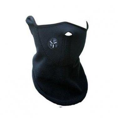 (Black) Half Face Mask Neck Warm for Bicycle Bike Ski Snowboard Motorcycle