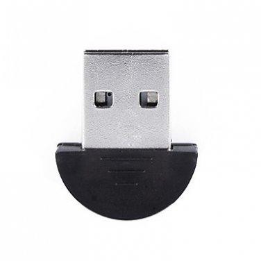 Mini Bluetooth 2.0 Adapter Dongle USB XP Vista Compatible - Halfmoon Shape