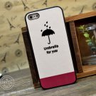 Stylish Soft Case Skin for iPhone 5 - Umbrella Theme Lover Must Have Woman