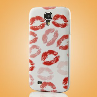 """Hot Lip"" Coloured Drawing Case for Samsung S4 I9500 IV Protective Shell Cover"
