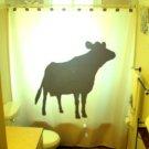Unique Shower Curtain Cow Moo Ox Female Bull Bovine Teats Milk