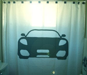 Unique Shower Curtain Car sports fast cool furious speed race