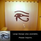 Unique Shower Curtain Eye of Horus Egyptian mythology Wedjat