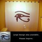 Unique Shower Curtain Eye of Horus Egyptian mythology Wedjat