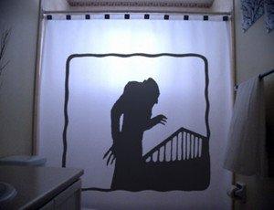 Unique Shower Curtain Horror Nosferatu A Symphony 1922 of fear