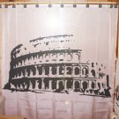 Unique Shower Curtain monument Colosseum Rome Italy roman