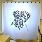 Unique Shower Curtain Dog Dogue De Bordeaux Mastiff Bulldog