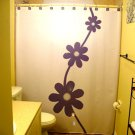 Flower Daisy Unique Shower Curtain Floral Design Marguerite