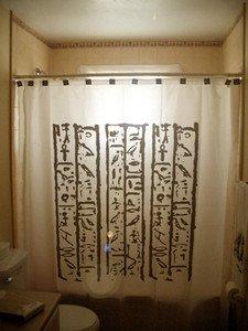 Unique Shower Curtain Egyptian Hieroglyphics egypt Hieroglyphs