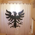 Unique Shower Curtain crest bird Germanic Eagle Shield Viking