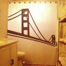 Golden Gate Bridge Unique Shower Curtain San Francisco Bay New