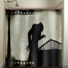 vintage film noir movie strip nosferatu shower curtain  bathroom   kid