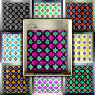 Modern Lattice Trellis Amoeba Moroccan shower curtain  bathroom   kids