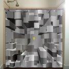 New York City Yellow Taxi Cab Buildings shower curtain  bathroom   kid