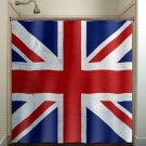 United Kingdom UK Union Jack England flag shower curtain  bathroom   k