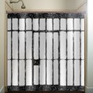 jail prison cell scary funny shower curtain  bathroom     wind