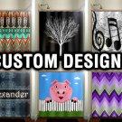 Custom Window Curtains, Shower Curtains, Window Panels, Window Treatment, bathro