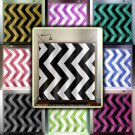 giant big large black white chevron shower curtain  bathroom   kids ba