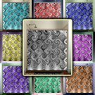 swirl tiles modern mosaic art chevron shower curtain  bathroom   kids