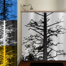 custom any color dead gnarly branches tree shower curtain  bathroom