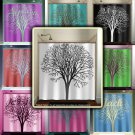 personalized name oak tree shower curtain  bathroom     window