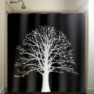 white oak tree shower curtain  bathroom     window curtains pa