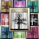 mighty oak tree shower curtain  bathroom     window curtains p