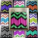 candy stripe custom colors zigzag chevron shower curtain  bathroom   k