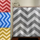 dirty shade of marble texture gray chevron shower curtain  bathroom
