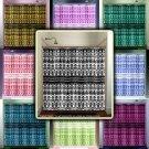 bohemian pattern chevron damask shower curtain  bathroom     w