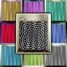 psychedelic spiral kaleidoscope chevron shower curtain  bathroom   kid