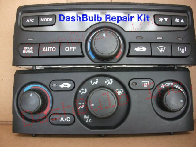 Light Bulb Kit 2003 2004 2005 2006 Honda Pilot Dash Heater Climate Control Ac Ex Exl