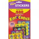 Kids Choice Smelly Scratch n Sniff Reward Stickers - 480 Scented Stickers