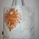 """Welcome to Las Vegas"" Heart Design, Queen of Hearts Blue Tote Bag"