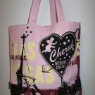 Pink Las Vegas Cherub Wedding Chapel Tote Bag