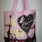 Pink Las Vegas Cherub Wedding Chapel Tote Bag