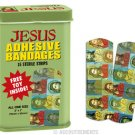 Jesus Print Bandaids, Collectible Tin, Free Toy Inside