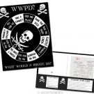 """""""What Would a Pirate Do"""" Spinner Folder"""