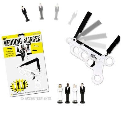Plastic Wedding Couple Catapulting Gun