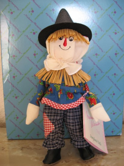"Madame Alexander Doll ""Scarecrow"" Wizard of Oz"