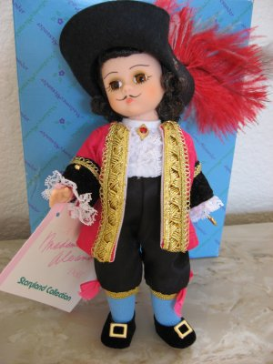 "Madame Alexander Doll ""Captain Hook"" from Peter Pan Series"
