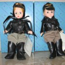 "Madame Alexander Doll Set ""Harley Wendy"" and ""Harley Billy"""