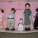 "Madame Alexander Four Doll Set ""Little Rascals"""