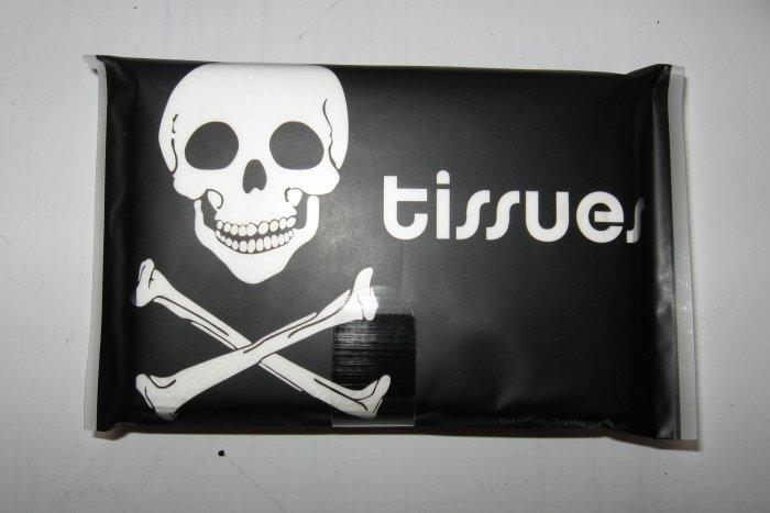 Pirate Print Tissue Cover