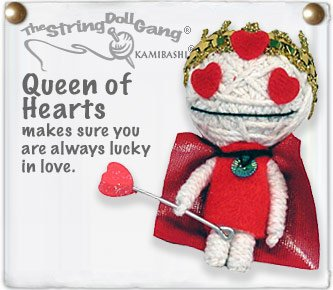 """Queen of Hearts"" String Doll, The Original String Doll Gang"