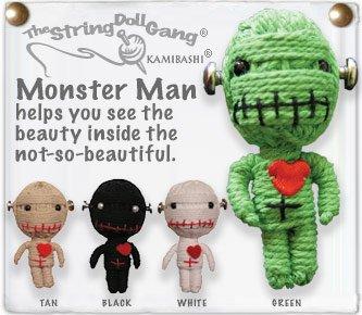 """Monster Man"" String Doll, The Original String Doll Gang"