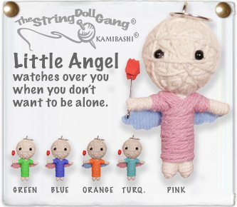"""Little Angel"" String Doll, The Original String Doll Gang"