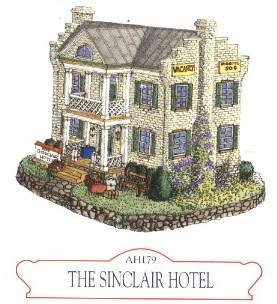 """The Sinclair Hotel"", Liberty Falls House Collection, AH179"