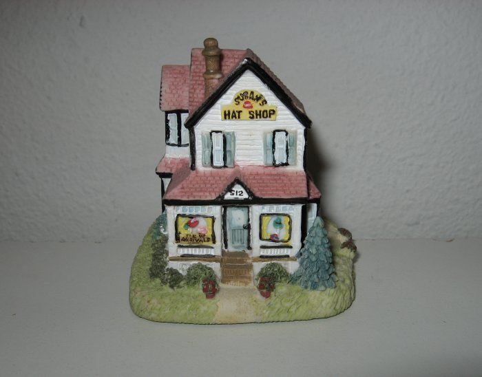 """Susan's Hat Shop"", Liberty Falls House Collection, AH127"
