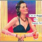 """I'm So Happy It's Happy Hour"" Set of 10 Party Invitations"